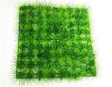 Nice Artificial Plastic Lawn Grass Fish Tank Plants Aquarium Underwater Decor UK