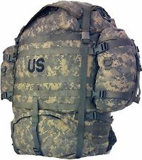 Backpack US Army MOLLE II ACU Rucksack Digital Camo large field pack Exce may ha