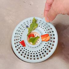 Abflußsieb für Küche Spülbecken, Haarsieb Spüle, Waschbecken oder , Spühle Blau