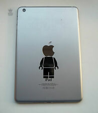 FUNNY IPAD MINI senza Brick Man Vinile Decalcomania Adesivo MAC MACBOOK