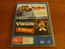 YOU, ME AND DUPREE + THE 40 YEAR OLD VIRGIN DVD *GREAT PRICE*