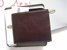 Fossil Leather Mens Truman Bifold Cordovan Wallet Ml3528603 New in box