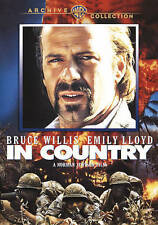 IN COUNTRY DVD-R NEW SEALED BRUCE WILLIS STARS