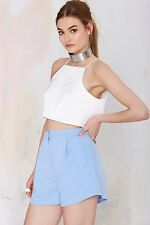 Cameo Crew Love Pale Sky Blue Smart Pockets Short S 10 £78
