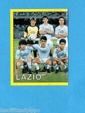 PANINI CALCIATORI 1988/89-Figurina n.174- SQUADRA SX - LAZIO -Recuperata