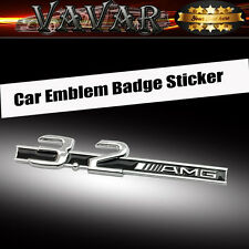 3.2 AMG Metal Logo Car Sticker Badge Emblem Sticker Decal For Mercedes-Benz