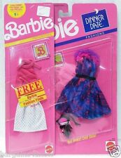 Barbie ~ Dinner Date Fashions Shoes Star Bag + Free fashions +
