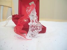 WATERFORD CRYSTAL 2003 12 DAYS OF XMAS ORNAMENT 9 LADIES DANCING MIB NO SLEEVE