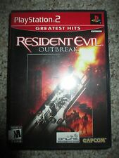 Resident Evil: Outbreak (Sony PlayStation 2, 2004) ps2 Compete