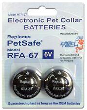 "Petsafe PIF-275 1"" Wireless Dog Fence Strap & 2 High Tech 2 RFA-67D Batterys"