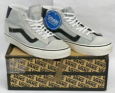 Vans Mid Skool Suede High Rise Mens Trainers, Shoes UK 7 / EU 40.5 (Grey)