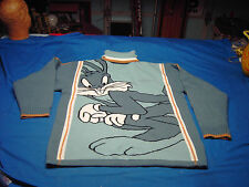 Studio by Southpole Bugs Bunny Turtleneck Sweater Mens Size L