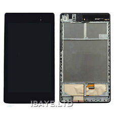 Black Frame+ LCD Display+Touch screen For ASUS Google Nexus 7 2nd ( 2013 ) wifi