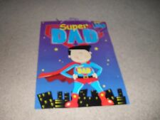 Brand new Super Dad large gift bag