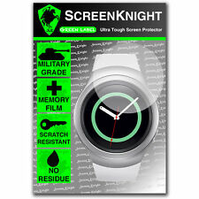 ScreenKnight Samsung Galaxy Gear S2 SCREEN PROTECTOR invisible military shield