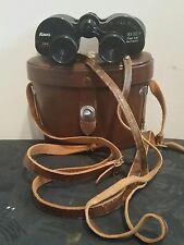 Kowa Prominar 8X30 coated Featherweight Binoculars & Hard Case Vintage
