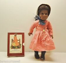 """EXCELLENT American Girl ADDY 18"""" DOLL AND SEALED BOOK SET"""
