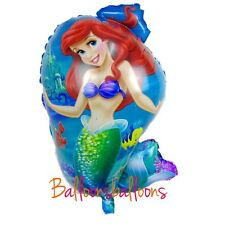 "Little Mermaid Balloon Ariel 24"" Kids Party Birthday Princess Disney"