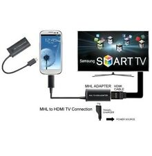 Mhl Micro Usb A Hdmi Hd Tv Cable Adaptador Samsung Galaxy S3 S4 S5 Note2 3
