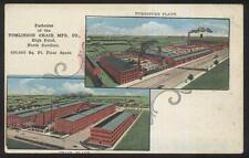 Postcard HIGH POINT NC Tomlinson Chair Factory/Plant Bird's Eye Aerial view 1907
