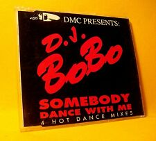 NEW MAXI Single CD D.J. BoBo Somebody Dance With Me 4TR 1993 Euro House ZYX !