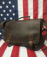 Kattee Men Vintage Leather Handbag Messenger Bag Shoulder Laptop Bag Briefcase