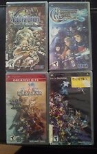 psp game lot yggdra union /phantasy star /dessisia. final fantasy tactics