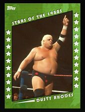 STARS OF THE 1980S GREEN DUSTY RHODES Topps WWE Slam Digital Card