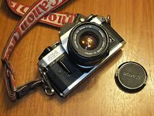 Canon AE-1 Program SLR Camera with FD 50mm F 1.8 Lens