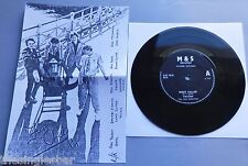 """Fan-Club - Night Caller UK 1978 M&S Records 7"""" with Insert"""