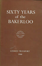 London Transport SIXTY YEARS OF THE BAKERLOO by Charles E Lee Paperback 1967
