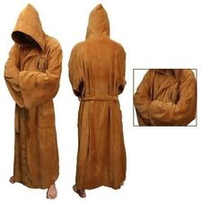 Star Wars Adult Brown Jedi/Black Sith Robe Bathrobe Cape Cloak Cosplay Costume
