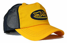 VON van DUTCH MESH TRUCKER BASE CAP [CLASSIC YELLOW BLACK] MÜTZE BASECAP KAPPE H