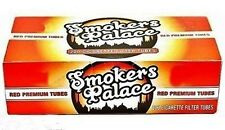 Smokers Palace Red (Full Flavor) 100s Size Cigarette Filter Tubes 200 Count Box