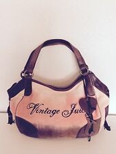 Juicy Couture Pink Brown Daydreamer Tote