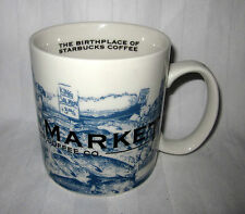STARBUCKS BIRTH PLACE 14 OZ 2005 PIKE PLACE MARKET TEA SPICES COFFEE MUG