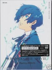 New Persona3 The Movie #1 Spring of Birth Limited DVD Soundtrack CD Book Japan