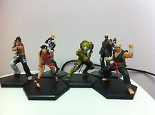 Tekken figure set of 6 Rare