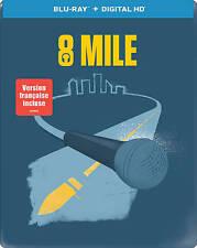 EMINEM 8 Mile (Blu-ray Disc, 2014, Steelbook STEEL BOOK VERSION) OOP