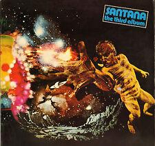 """SANTANA """"THE THIRD ALBUM"""" LATIN ROCK LP 1971 CBS 64390"""