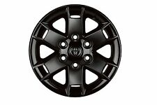 "Toyota FJ Cruiser 2007 - 2014 TRD Gloss Black Baja 16"" Alloy Rims Set OEM NEW!"