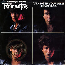 THE ROMANTICS - Talking In Your Sleep [Special Remix] Vinyl MAXI 45 TOURS 12""