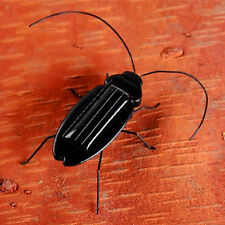 New Black Solar Power Energy Cockroach Fun Gadget Office School Kid Child Toys