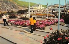 BR78006 crazy golf at ilfracombe   uk 14x9cm