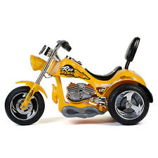 RedHawk 12V Electric Power Wheels Kids Ride On Bike Motorcycle YELLOW