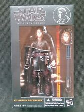 Hasbro Star Wars The Black Series 6 inch #12 Anakin Skywalker Authentic Rare MIB
