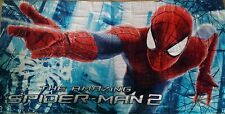 MARVEL SPIDER MAN BOYS kIDS BEACH, BATH TOWEL SWIMMING •  48 H COURIER • GIFT