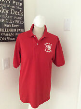 "Jerzees Womens Bobcat Couger Polo Shirt Size S M Band Short Sleeve Top 40"" Chest"