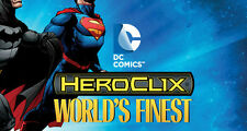 HEROCLIX WORLD'S FINEST Supergirl 056 & WFID-012(Kryptonian) (Code was not used)
