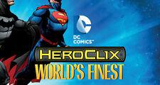 HEROCLIX WORLD'S FINEST Creeper 011 Element Man 040 (Gotham City, Outsiders)
